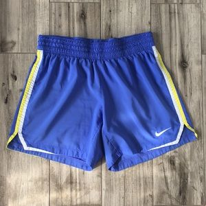 Nike Dri-Fit Blue Athletic Shorts Size S(4-6)